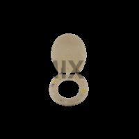 Bath Duck Wc-Ülőke - Polyresin - Fehér Homok És Kagyló Mintás