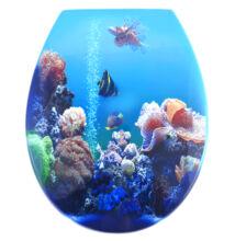 Bath Duck wc ülőke - Mdf - cink zsanérokkal - Aquarium