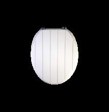 Bath Duck wc ülőke - Mdf - cink zsanérokkal - Fehér, Mart