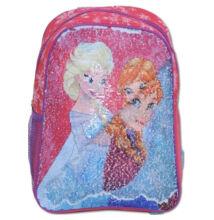 Disney JÉGVARÁZS Magic Flitteres hátizsák piros FZ-SEQ-2