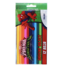 Disney Pókember színes ceruza 12db-os SP-12 PP