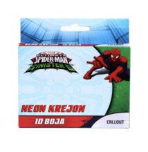 Disney Pókember zsírkréta 10 db-os SP-CRAYON