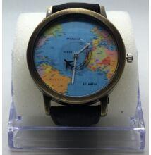 Divatékszer, karóra világtérkép