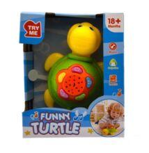 Bébi projektor - teknős sárga