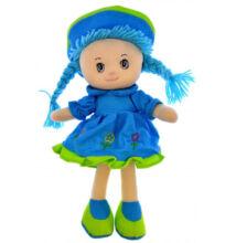 Rongybaba Kék ruhás 30cm