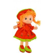 Rongybaba Piros ruhás 30cm
