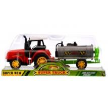 Tejszállító traktor