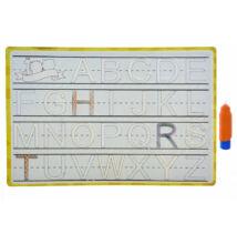 Vízzel rajzolós ABC-s tábla - 37x25cm
