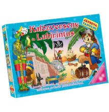 Játszva tanulni - Kalózverseny Labirintus