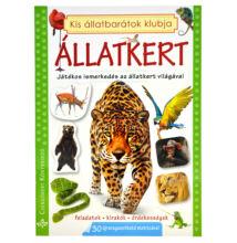Állatkert - matricás foglalkoztató könyv