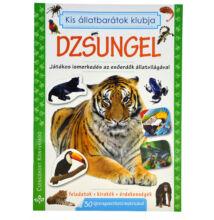 Dzsungel - matricás foglalkoztató könyv