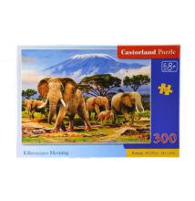 PUZZLE 300 db-os Elefántok