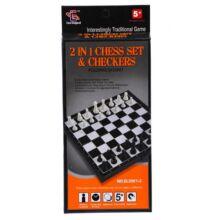 Sakk és dáma 2 az 1-ben játék