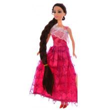 BABA Jessica hosszú hajú Pink 30cm