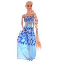BABA Jessica hosszú hajú Kék 30cm
