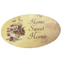 FA AJTÓDÍSZ Kopogtató Home Sweet Home felirattal 100247