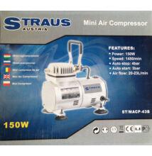STRAUS Légkompresszor 150w
