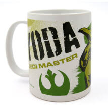 Star Wars Yoda Bögre porcelán 3,5dl díszdobozban 166304-6