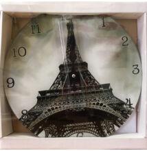 FALIÓRA ÜVEG kerek Eiffel Torony 30cm 203186
