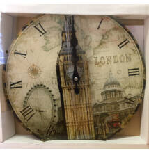 FALIÓRA ÜVEG kerek London Big Ben 30cm 203179