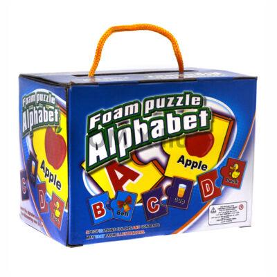 Szókincs fejlesztő ABC puzzle - Angol