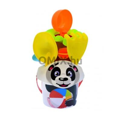 Állat mintás homokozó készlet - panda