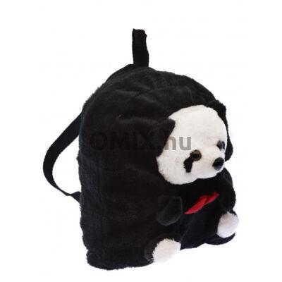 Plüss panda hátizsák 22cm