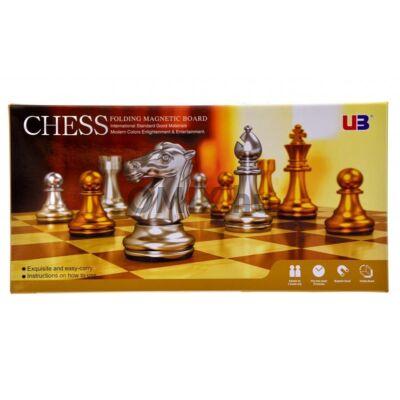 Sakk - arany és ezüst bábuk