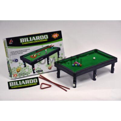 MINI BILLIARD játék asztal és eszközök