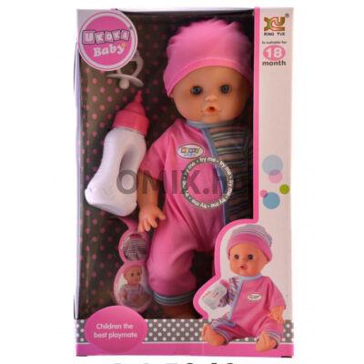 BABA Beszélő Csecsemő cumival 28cm