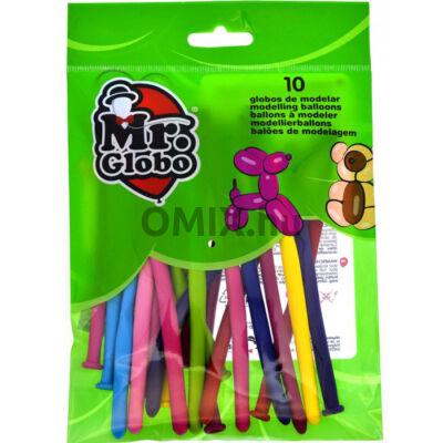 Modellező LUFI csomag 10db-os vegyes szín Mr. Globo