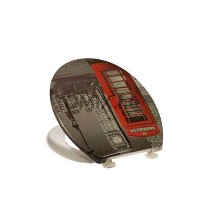 Bath Duck Wc-Ülőke - Duroplaszt - Műanyag Zsanérokkal - London TS-DP-PL-D-3