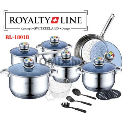 ROYALTY LINE nemesacél edénykészlet 18db-os  RL-1801B