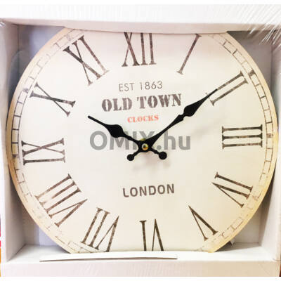 FALIÓRA kerek Old Town London 30cm 203147