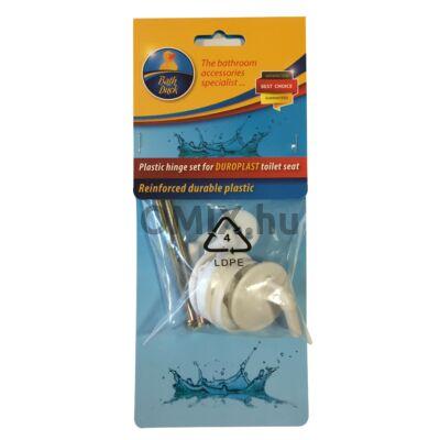 Bath Duck Zsanér Szett Duroplast Wc-Ülőkéhez - Erősített Műanyag