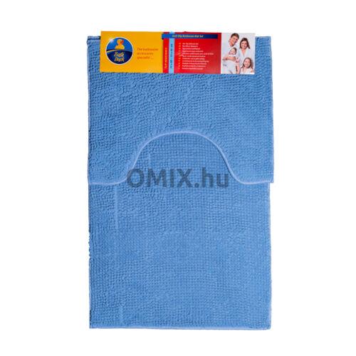 Bath Duck fürdőszoba szőnyeg szett zsenília Kék 2db-os BM-SET-CH1