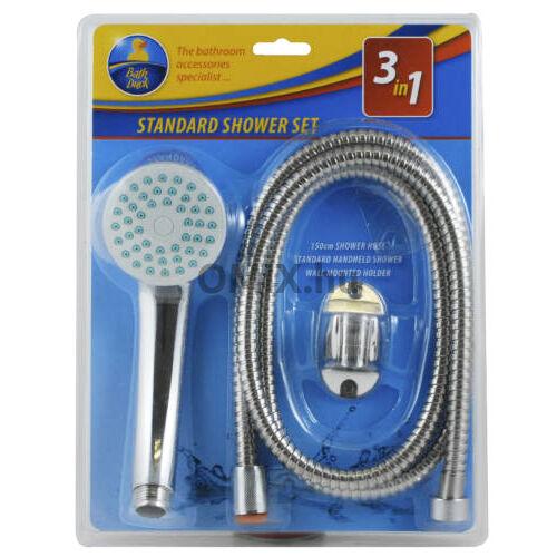 Bath Duck 3in1 Zuhanyszett - 3 Részes Standart Zuhanyfejjel