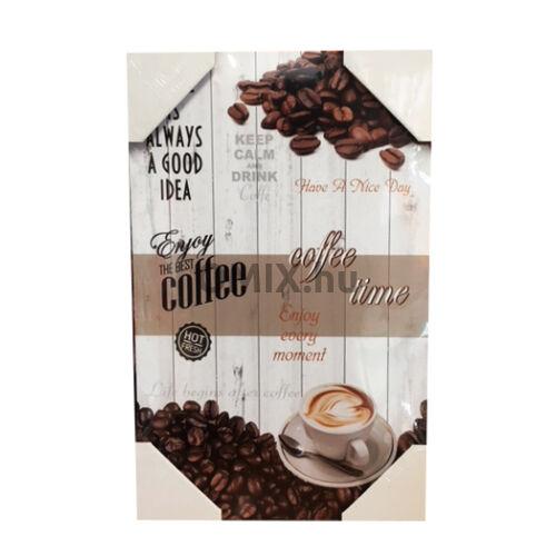 FA TÁBLAKÉP - Coffee... 40x25cm