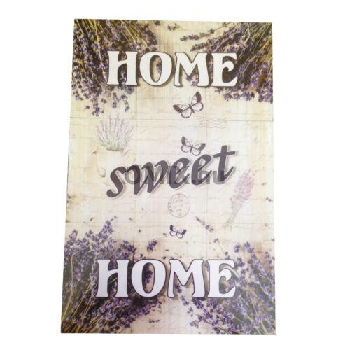 Fa ajtódísz Szétnyitható - Home Sweet Home