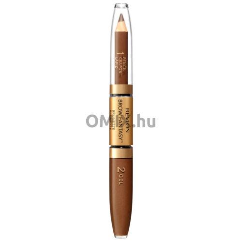 Revlon Brow Fantasy szemöldök zselé ceruza - Brunette 105