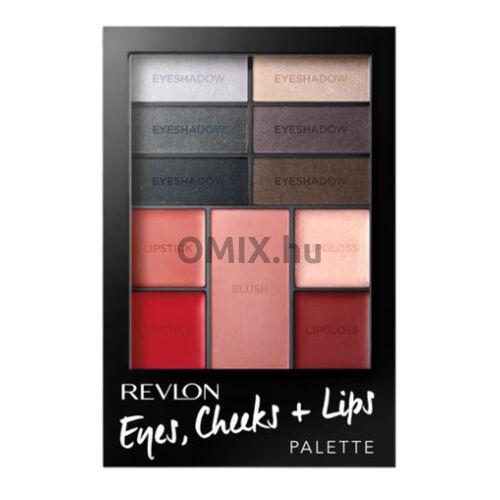 Revlon Eyes Cheeks + Lips Sminkpaletta - Seduct Smokies 005