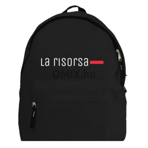 La Risorsa fekete hátizsák