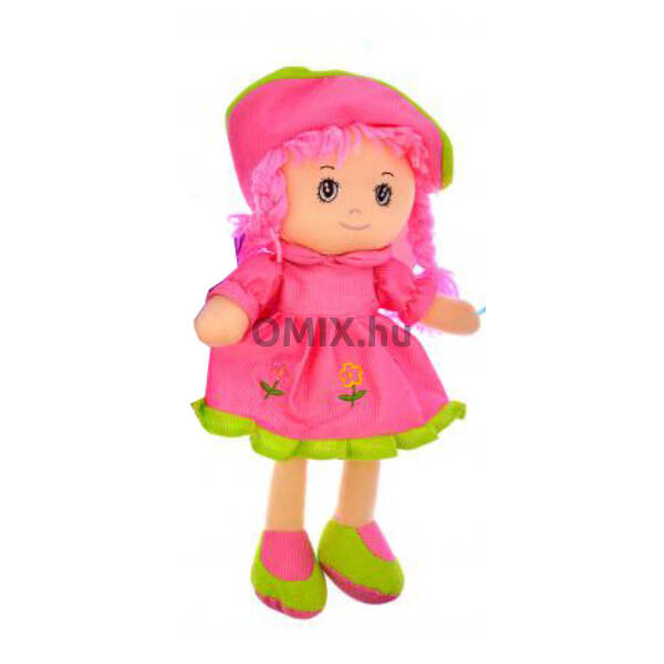 Rongybaba Pink ruhás 30cm