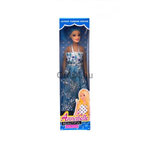 Annabelle - hosszú ruhás baba kék doboz