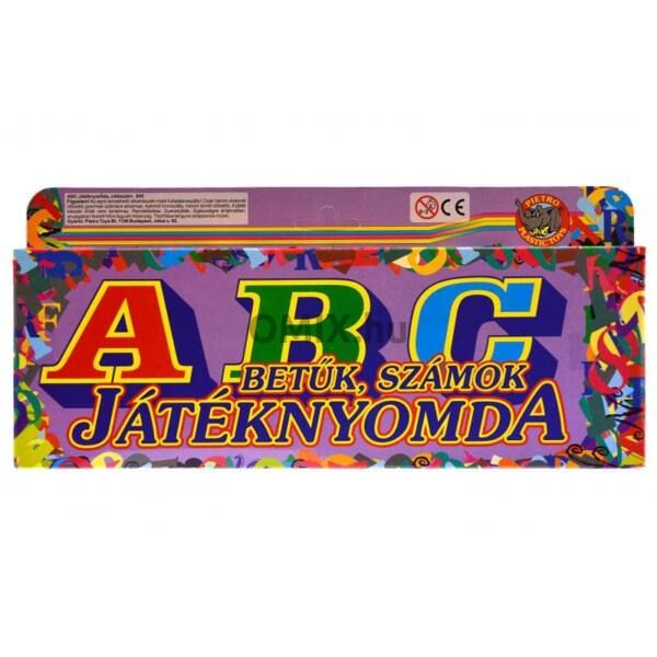 18db-os játéknyomda -  ABC betűk, számok